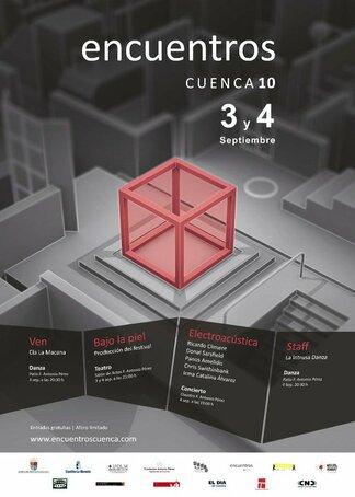 Encuentros Cuenca Poster