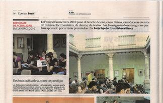 El Día, Cuenca, 05.09.2010, p. 16