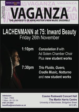 Lachenmann at 75: Inward Beauty Poster
