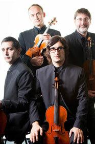 Quatuor Danel (Guy Danel, Gilles Millet, Vlad Bogdanas, Marc Danel)