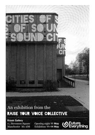 Cities of Sound flyer