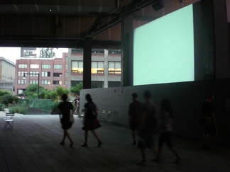 John Cage's One11 and 103 screening in the Highline