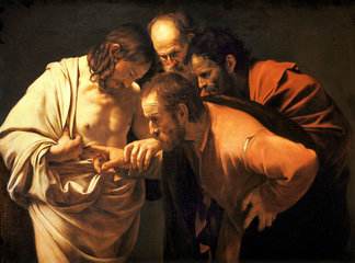 Caravaggio — The Incredulity of St Thomas