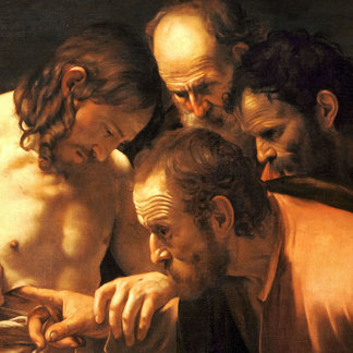 Caravaggio's Incredulity of St Thomas