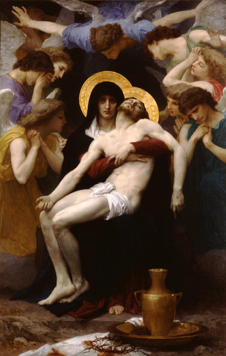 William-Adolphe Bouguereau's Pietà