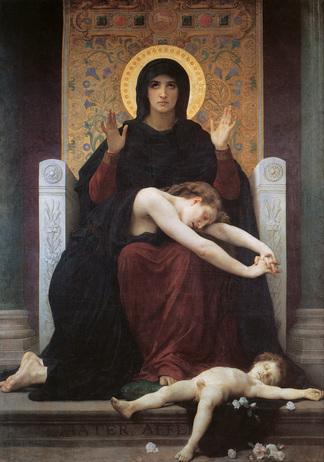 Bouguereau's Vierge Consolatrice (1875)